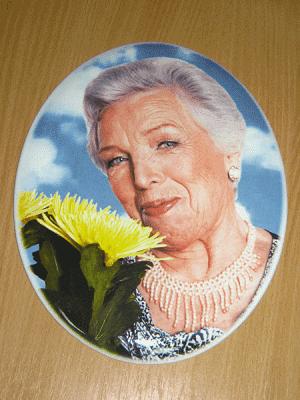 фото на керамике