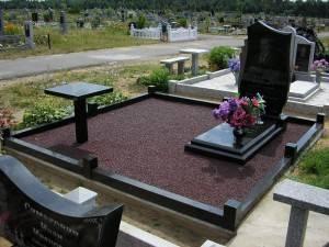 Благоустройство могил