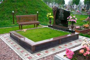 Как красиво оформить могилу на кладбище