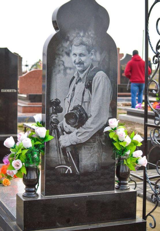гравировка фото на памятник