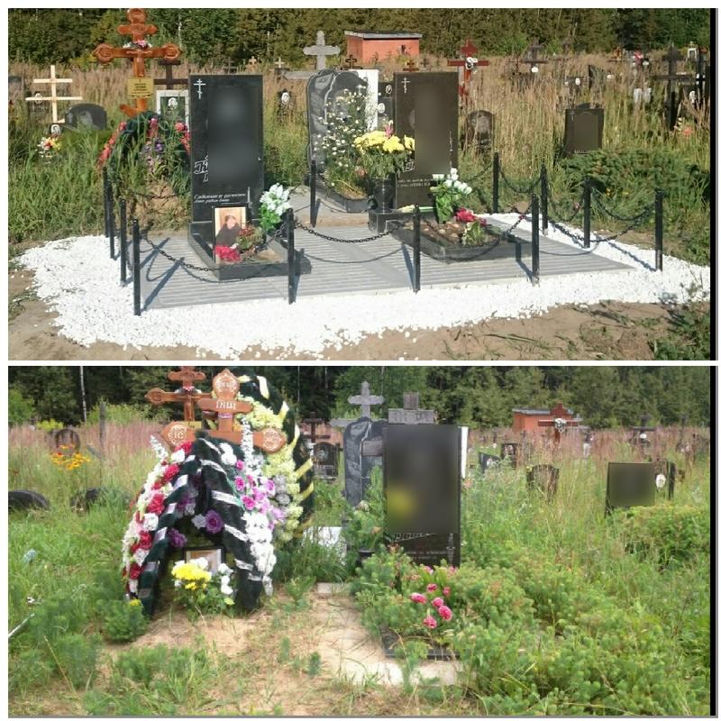 Борьба-с-травой-на-кладбище